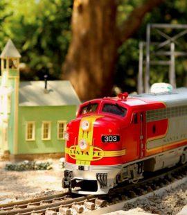 enjoy the toy train
