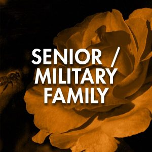 special discounts for seniors and military