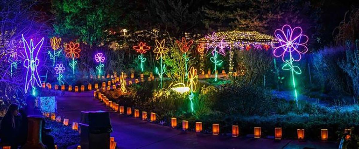 Illuminations – Botanica - Christmas Lights Wichita Ks