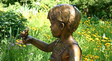 Sculptures Getting A Facelift Botanica